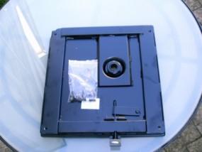 Flachkonsole MB NCV 3 für die Beifahrerseite
